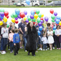 Opening of The Kids With Cancer Parade in Lossiemouth Scotland