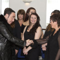 'One Fond Kiss' Robert Burns play rehearsal with David Gest