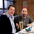 David Gest With Diarmuid Gavin