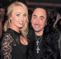 Jorgie Porter and David Gest