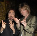 David Gest With Donny Tourette