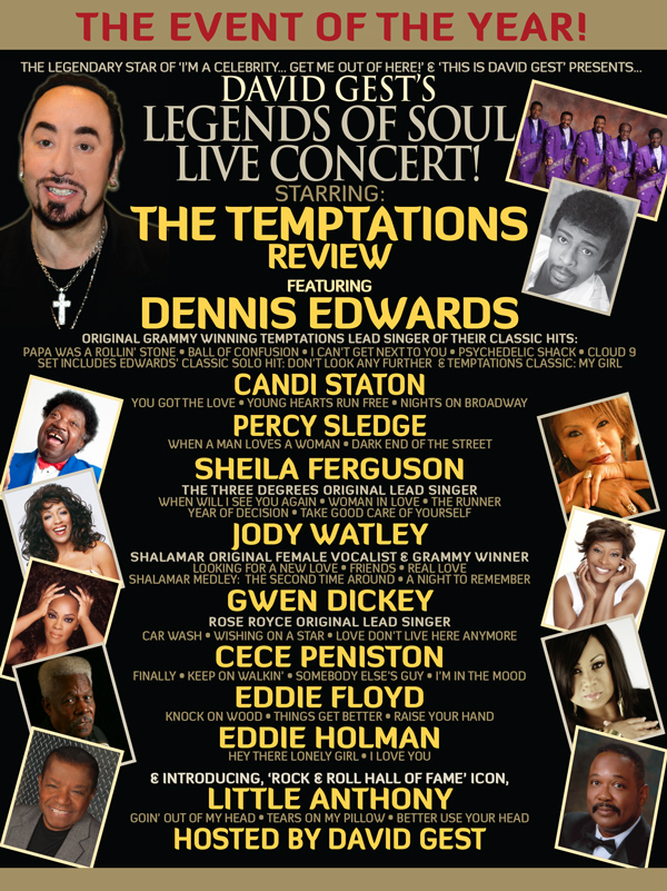 Legends Of Soul Live Concert 2014