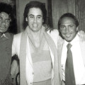 Michael Jackson with David Gest, Paul Anka and Dee Dee Jackson in 1981