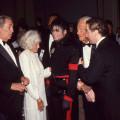 Robert Mitchum,Frances Dee (Mccrea), Michael Jackson, Joel McCrea & David Gest