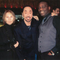 Lillian Kyle (Former Manager of Edwin Starr), David Gest and Angelo Starr. At A Tribute To The Late Edwin Starr At The Jazz Cafe