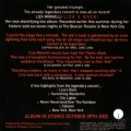 Liza's Back CD back cover