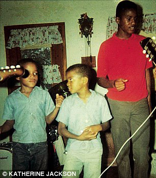 Michael with his brothers in the Sixties