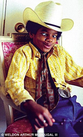 Michael Jackson cowboy hat
