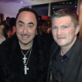 Ricky Hatton and David Gest