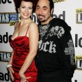 David Gest with Cleo Rocos