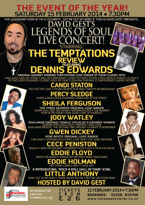 Legends Of Soul Live CARLISLE