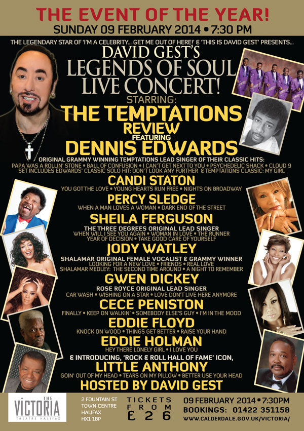 Legends Of Soul Live HALIFAX