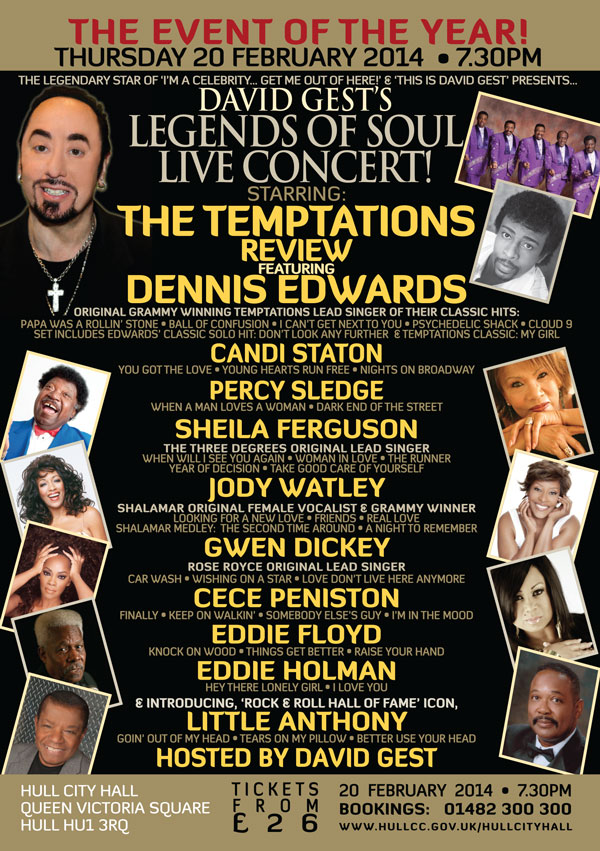 Legends Of Soul Live A5 HULL
