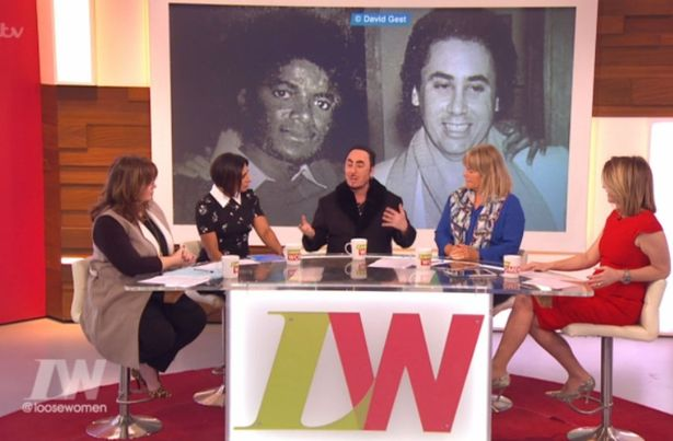 David Gest on the Loose Women Show