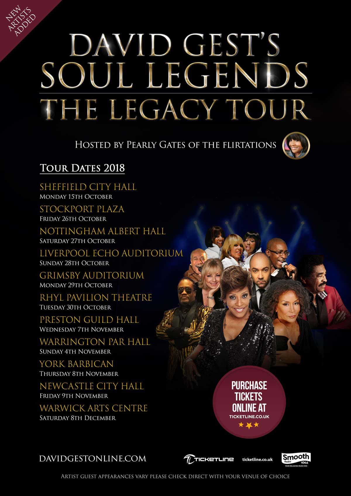 David Gest Legacy Tour