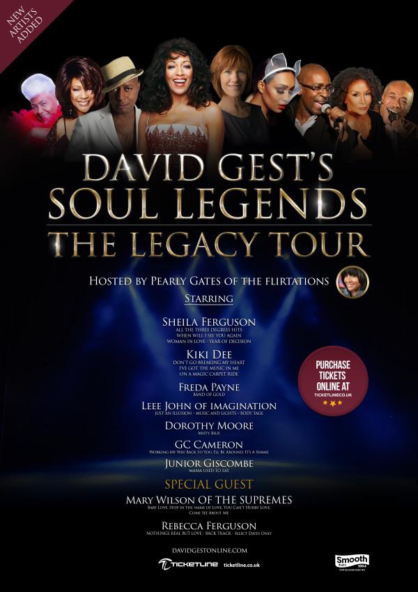 David Gest - Legacy Tour A3 No City