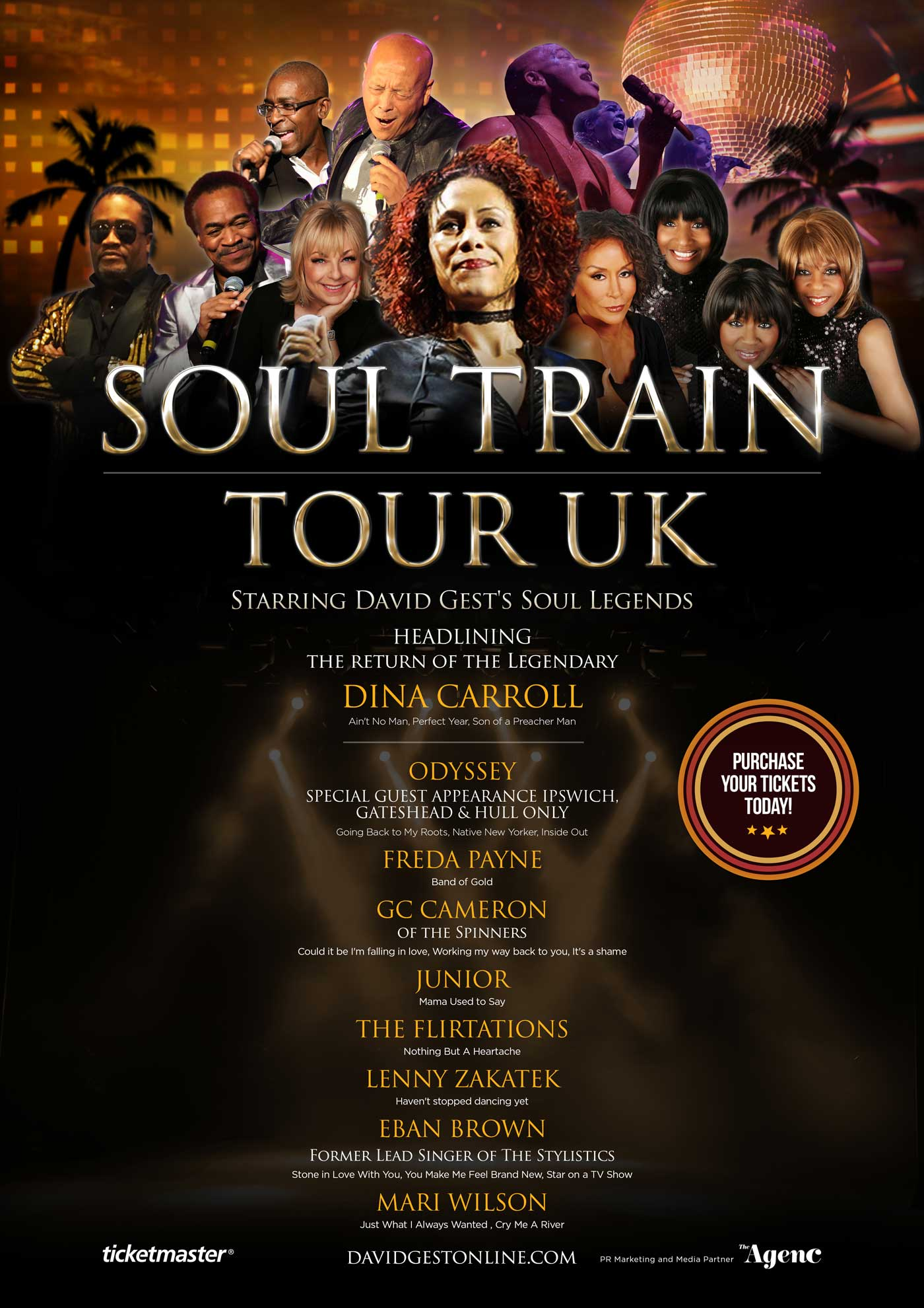 Soul Train Tour UK